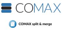 Comax Split & Merge